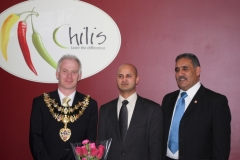Mayor's Visit to Chilis